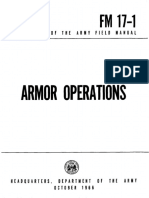 FM17-1 Armor Operations 1966