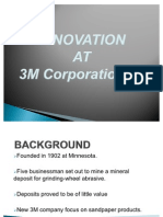 PPT on 3M Innovation..