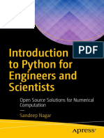Apress - Introduction to Python for Engineers and Scientists (Nagar) (2018)