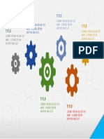 Brilliantly Done Gears Smart ART in Microsoft PowerPoint (PPT) for Your Business Meeting