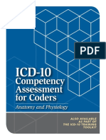 HCPro Inc., Adrianne E. Avillion DEd RN Reviewer ICD-10 Competency Assessment for Coders Anatomy and Physiology