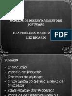 Aula02 - Modelos de Desenvolvimento