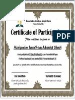 95 Theses - Marigondon (Participation)