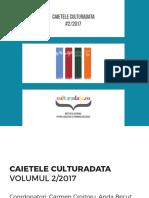 2017 Caietele Culturadata Vol2 2017