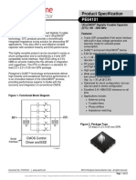 Digitally Tunable Capacitors-pe64101ds