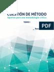 Cuestión de Método 1ª Ed.tomo I - Ynoub