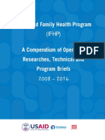 IFHP Research and Studeis Compendium 2008-2016 - Abdusemed Mussa