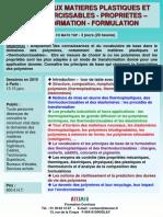 Matieres Plastiques Et Thermodurcissables 2010