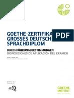 reglas examen c2 alemán