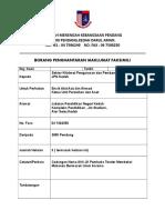 Borang Kiriman Faks