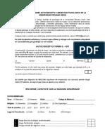 Cuestionarios Sobre Autoconcepto y Bienestar Psicologico en La Universidad Peruana Union
