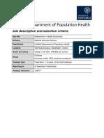 Job Description_Researcher in Health Economics
