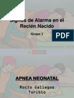 Signos de Alarma RN - Apnea y Dif Resp
