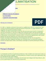 CLIMATISATION Calcul Thermique de Climatisation