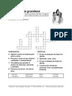 Key to Greatness Esp Crossword