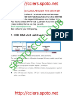 How to Pass CCIE R&S LAB Exam First Attempt