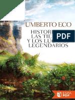 Historia de Las Tierras y Los l - Umberto Eco