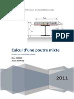 Chapitre 2 PoutreComposite-Rapport
