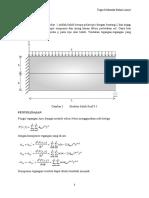 Perhitungan tegangan dengan fungsi tegangan Airy - Mekanika Bahan