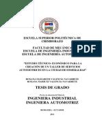 Estudio Técnico-Económico para la crecaión de un Taller de servicios automotrices.pdf
