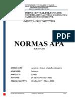Normas APA -Ejemplos