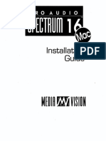 700-0233 PAS16 Mac Installation Guide 1992
