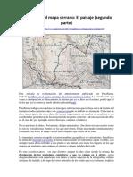 Palabras en El Mapa Serrano- El Paisaje (Segunda Parte)