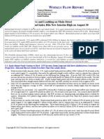 Weekly Flow Report 20100901