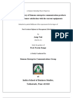 Siemens Project Report