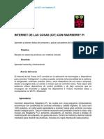 Internet de Las Cosas (Iot) Con Raspberry Pi (35 Hrs)