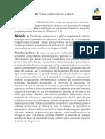 Programación Python Con Aplicaciones en El Ámbito Científico (35 Hrs)