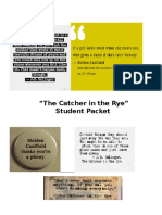 Catcher in the Rye Student Packet