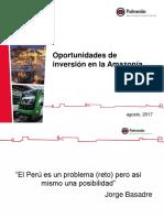 Oportunidades de Inversión Amazonía 11.08.17