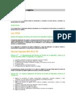 Documentación y Registro
