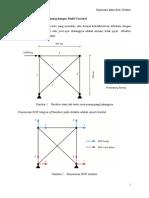 Optimasi Struktur Rangka 2D dengan Metode Resizing Multi Variabel