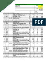 Planilha Orçamentaria - Novo Pav - Licitação
