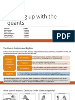 Keeping Up With Quants Ppt