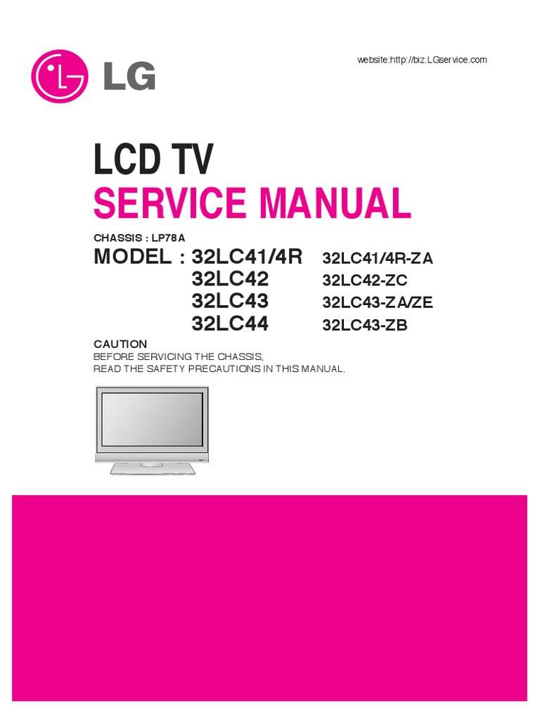 Lcd Tv Lg 32lc41 4r 32lc42 32lc43 32lc44 Chassis Lp78apdf Powerflex 400 Wiring Diagram Soldering Printed Circuit Board