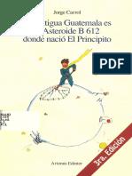 el principito y guatemala