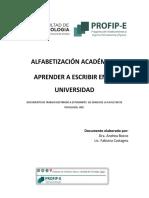 DEFINITIVO ALFABETIZACION ACADEMICA  APRENDER A ESCRIBIR EN LA  UNIVERSIDAD. DOCUMENTO DE TRABAJO ESTUDAINTES  PROFIP E.pdf