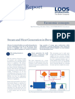 Steam and Heat Generation in Breweries