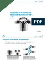 Competencias de Liderazgo y Emprendimiento Social Eficaz. Parte 4