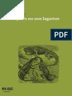Las Mujeres No Son Lagartos [Luciano Lutereau & Santiago Thompson]