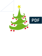 Arbol Dibuo de Navidad Verde