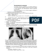 Modificarile transparentei pulm