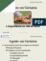 Agente de Geriatria - Importância