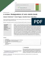 A Review- Biodegradation of Resin—Dentin Bonds
