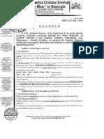 2005, 19 Mayo - Decreto