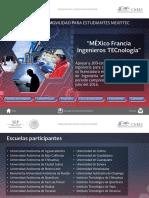 Programa de movilidad para estudiantes Mexfitec