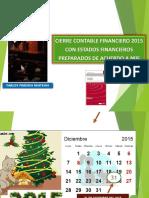 Cierre Contable 2015- Paredes Carlos